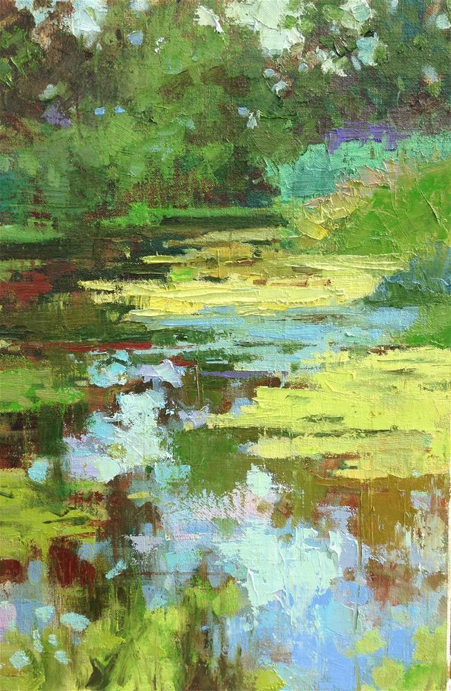 """Silent Backwaters"" original fine art by Emiliya Lane"