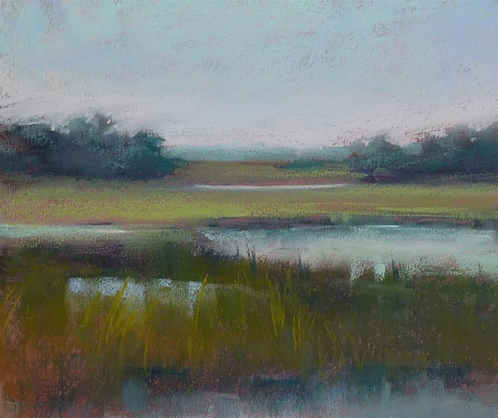 """After the Rain"" original fine art by Karen Margulis"