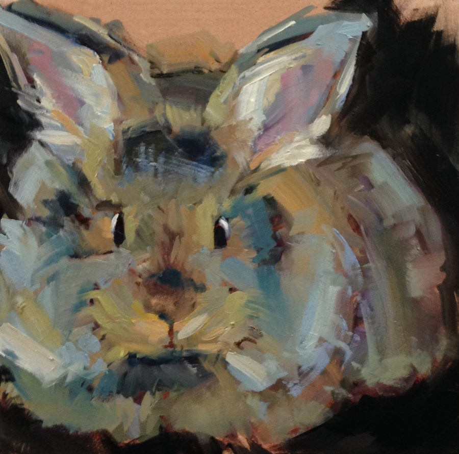 """Furball"" original fine art by Patti McNutt"