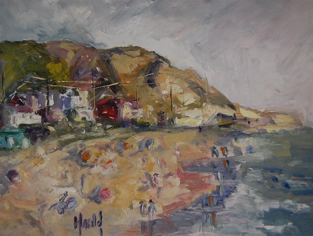 """""""Summer"""" original fine art by Deborah Harold"""