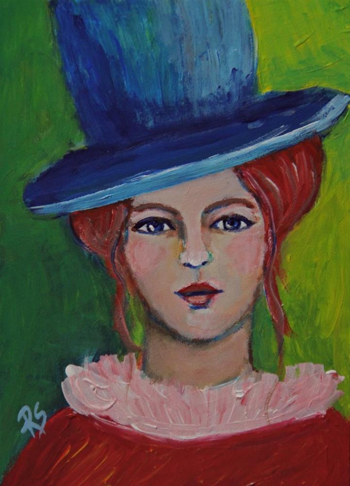 """""""Gabrielle"""" original fine art by Roberta Schmidt"""
