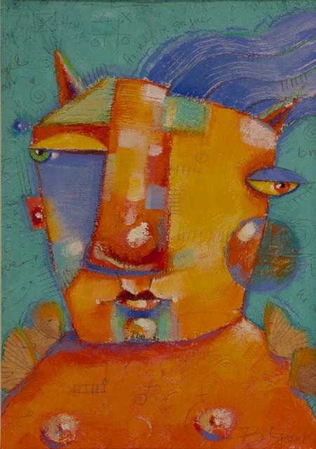 """Guardian Angel Of The Empty Pockets"" original fine art by Brenda York"