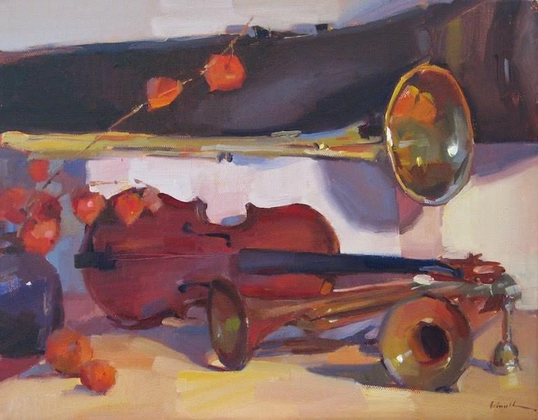 """Instrumental"" original fine art by Sarah Sedwick"
