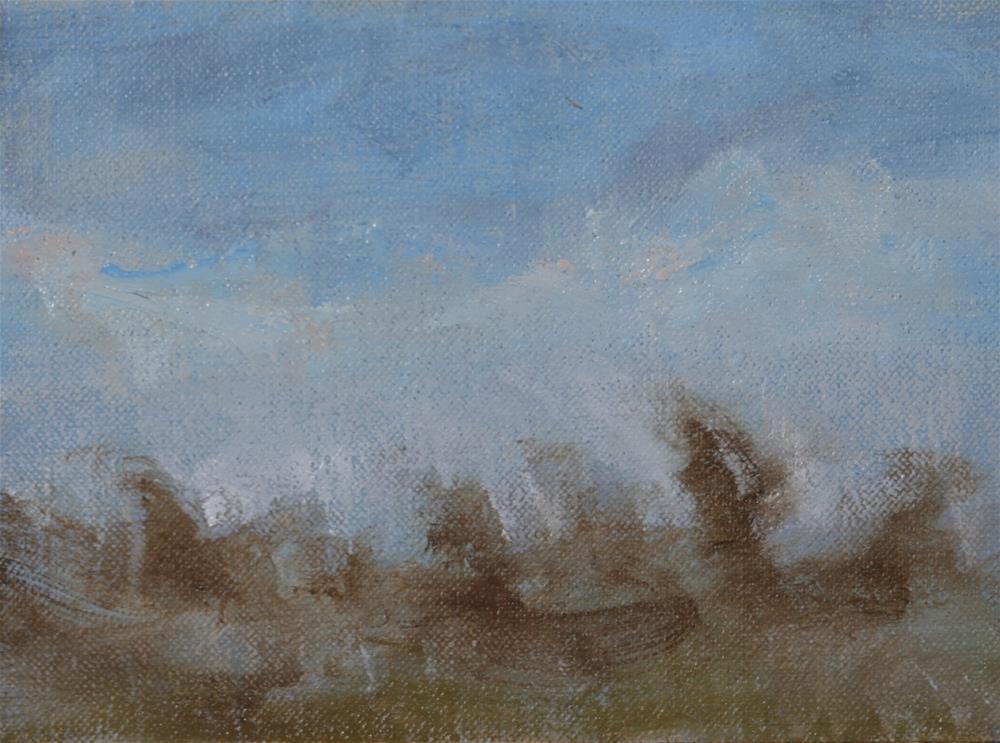 """Winter Daylight 02"" original fine art by Scott Serafica"