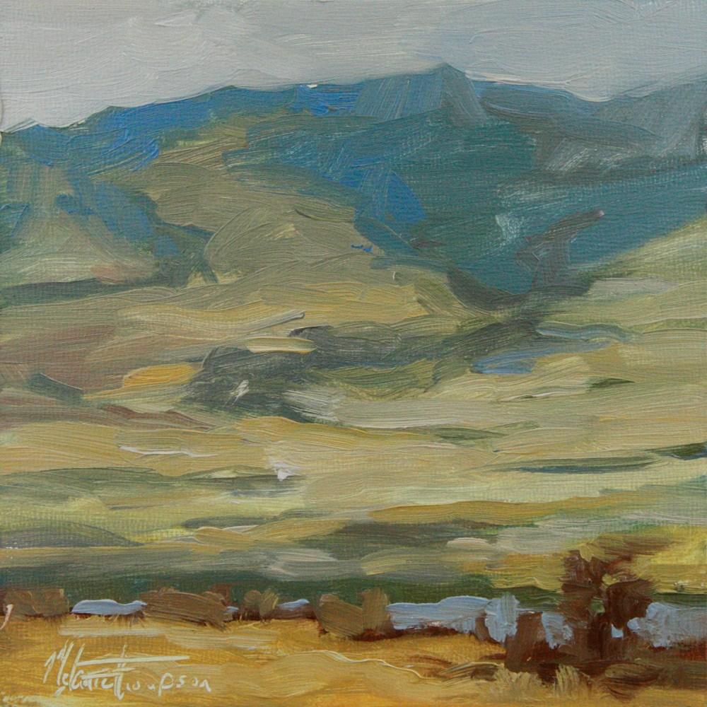 """Down the Gorge III"" original fine art by Melanie Thompson"