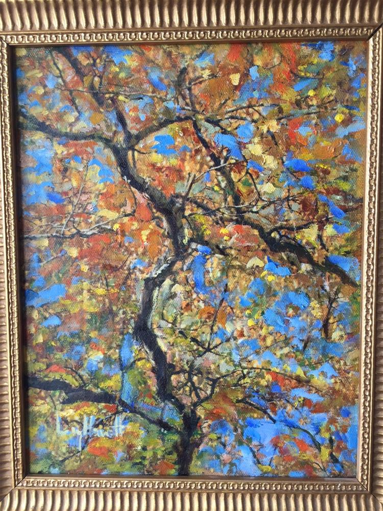 """LOOKING UP"" original fine art by Lucy Hammett"