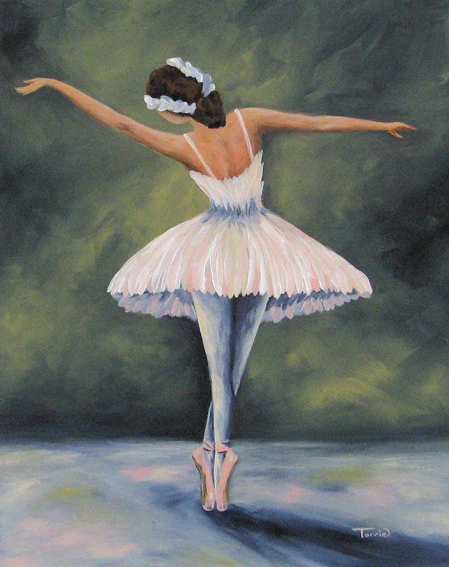 """The Ballerina IV"" original fine art by Torrie Smiley"