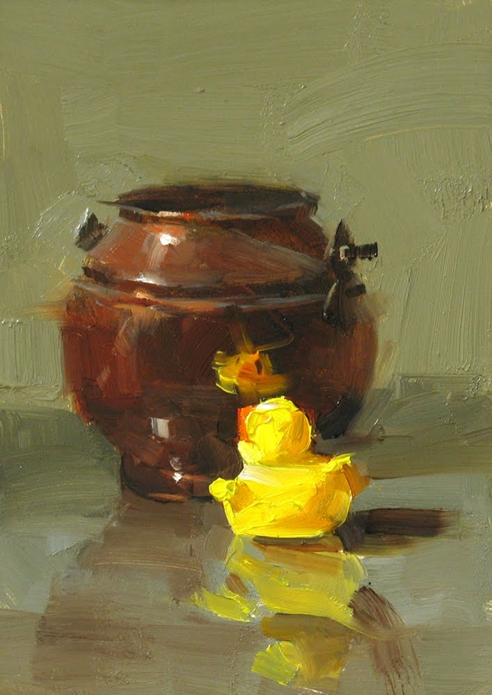 """""""Can We Play Together?"""" original fine art by Qiang Huang"""