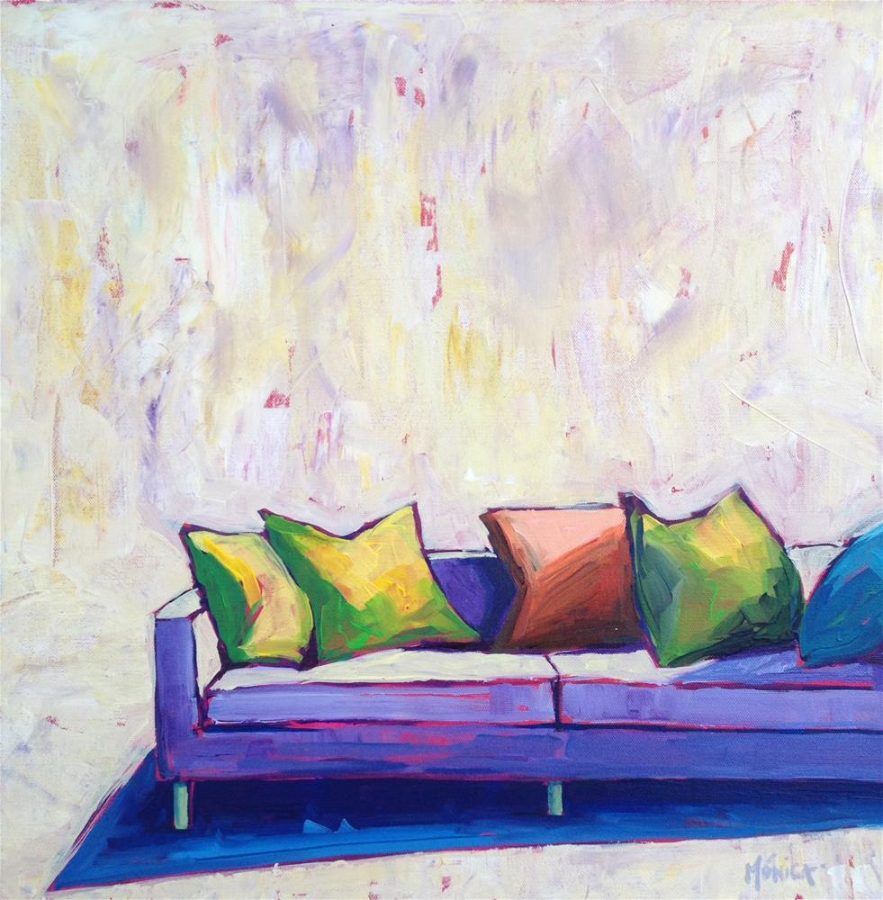 """""""Keeping Summer in Lilac"""" original fine art by Mónica Linares"""