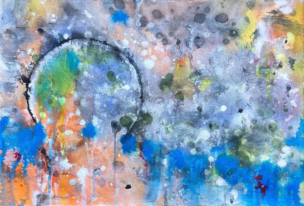 """Rising or Falling"" original fine art by Kali Parsons"