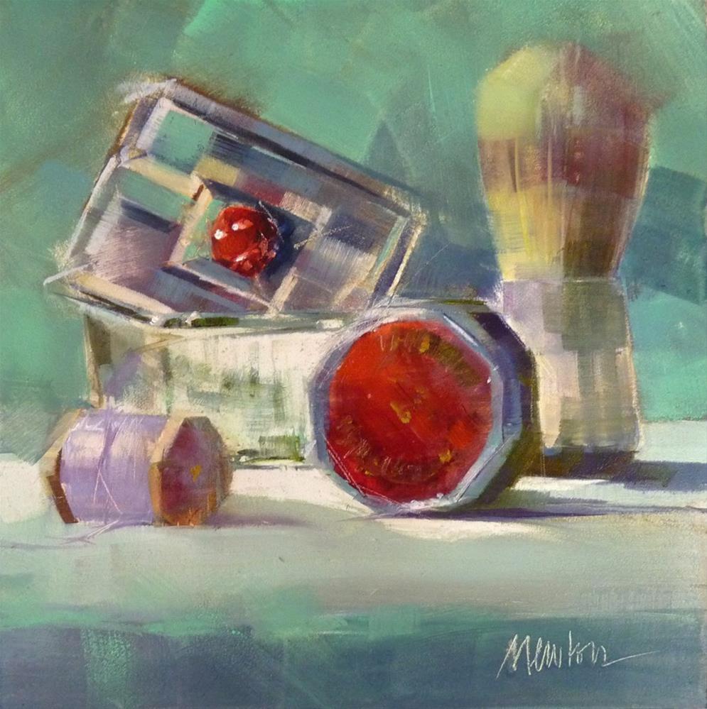 """Comfort and Joy"" original fine art by Barbara Benedetti Newton"