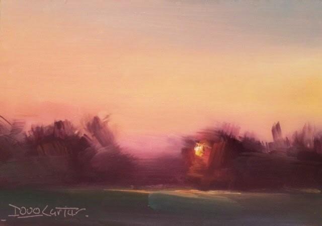 """ CONTENT "" original fine art by Doug Carter"