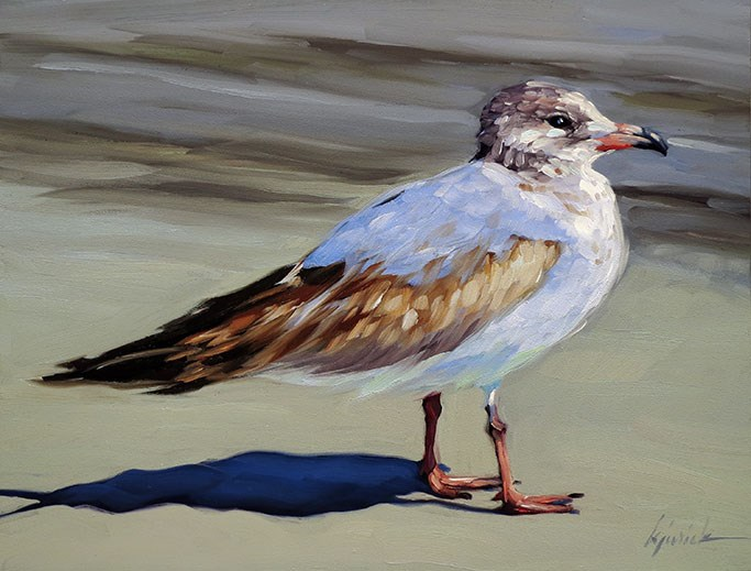 """""""Cleared For Takeoff"""" original fine art by Karin Jurick"""