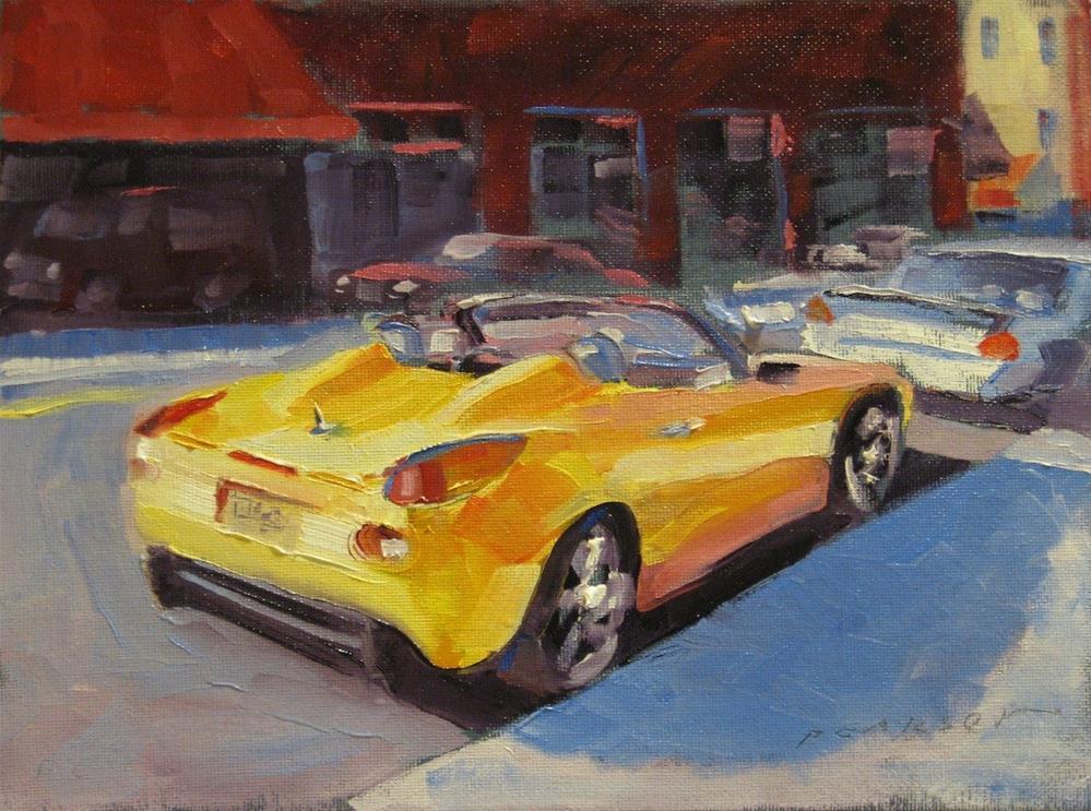 """Yellow Solstice"" original fine art by Dennis Pearson"