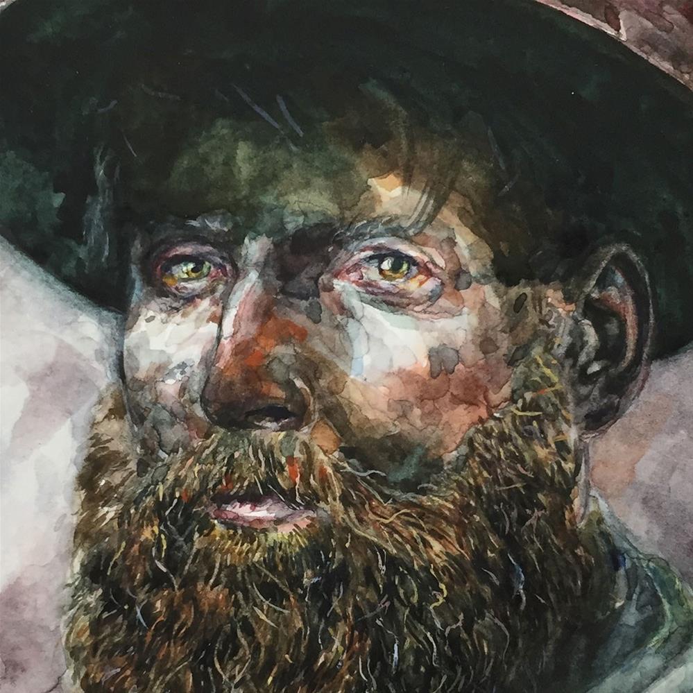 """""""Miner"""" original fine art by Stephen Ravenscraft"""