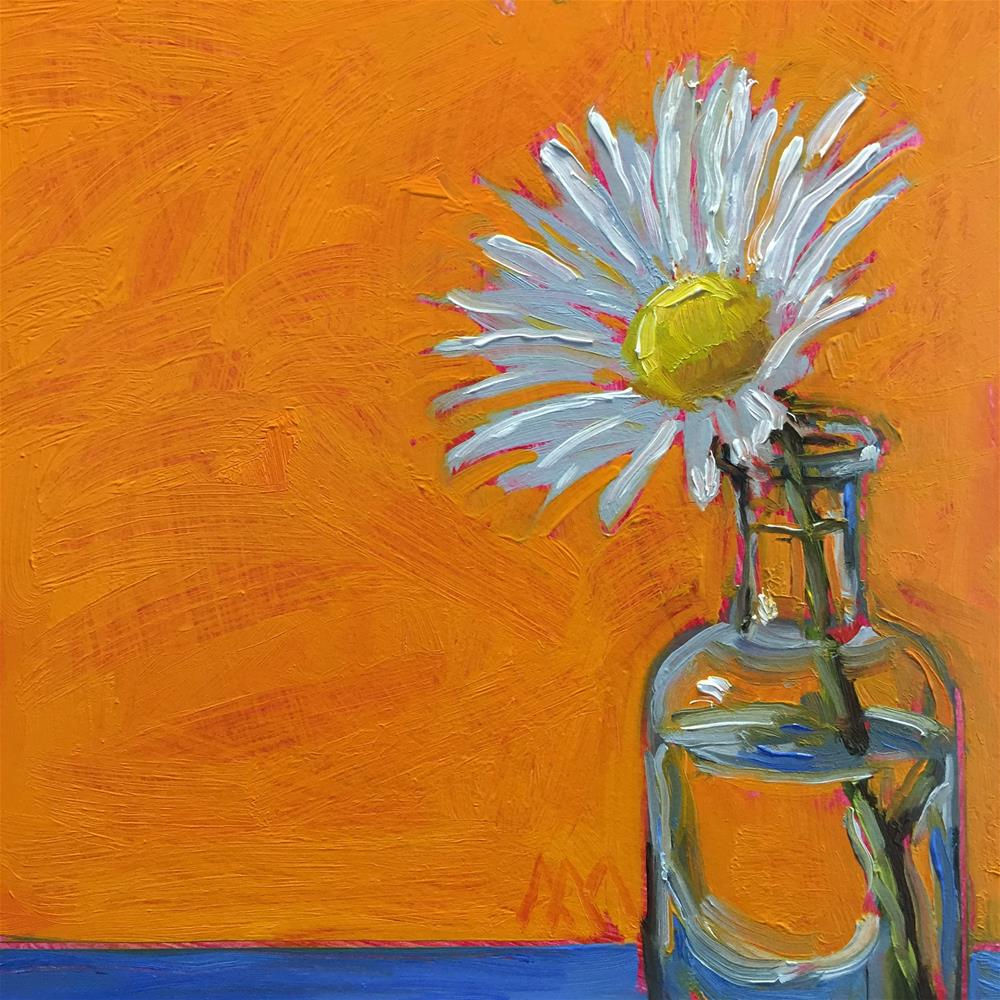 """The Lone Daisy"" original fine art by Austin Maloney"