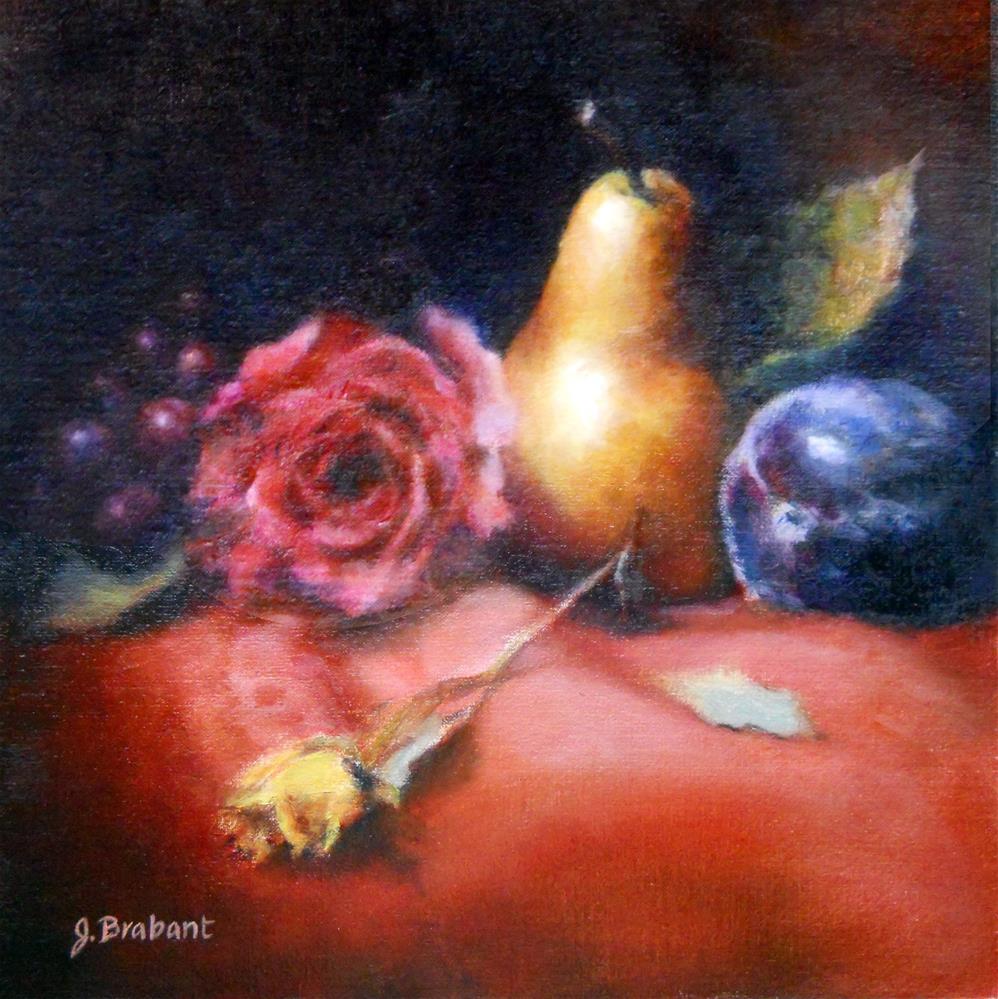 """Fruit Melody"" original fine art by Jill Brabant"