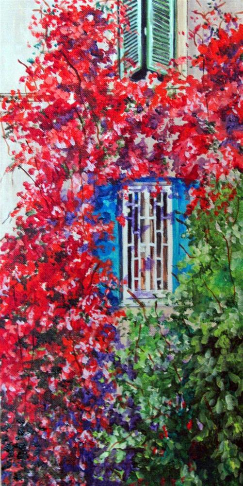 """""""Roman Windows"""" original fine art by Nan Johnson"""