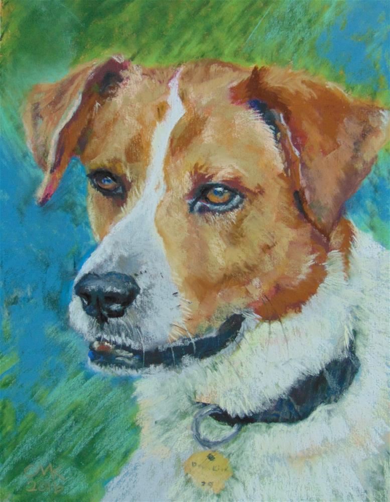 """Jack the Foxhound"" original fine art by Catherine Kauffman"