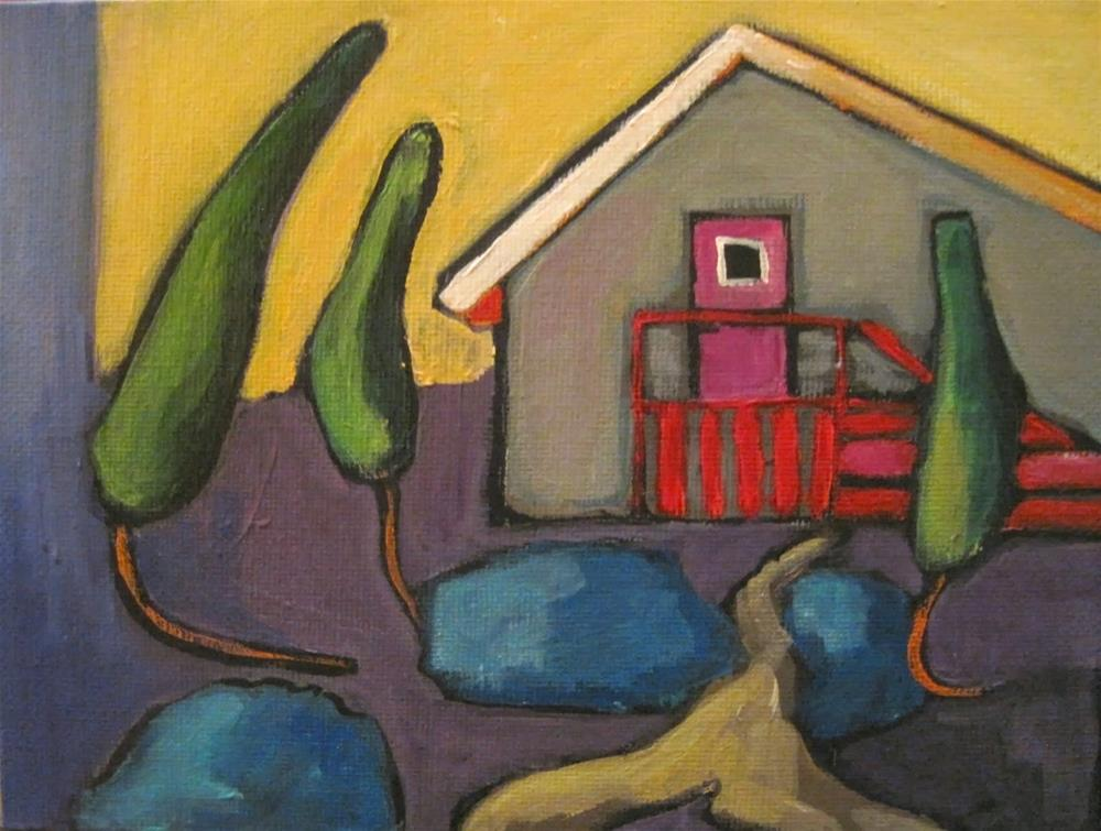 """223 Peter Piper's House"" original fine art by Diane Campion"