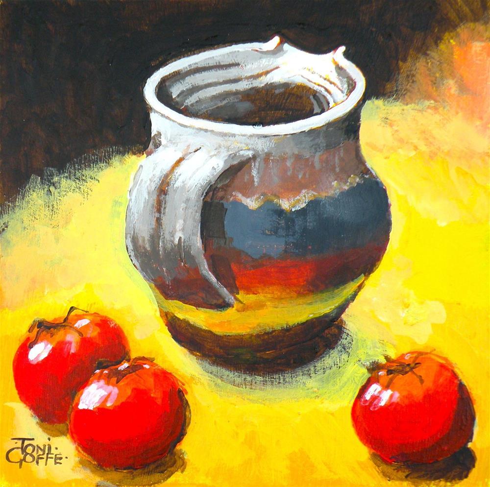 """Follow me"" original fine art by Toni Goffe"