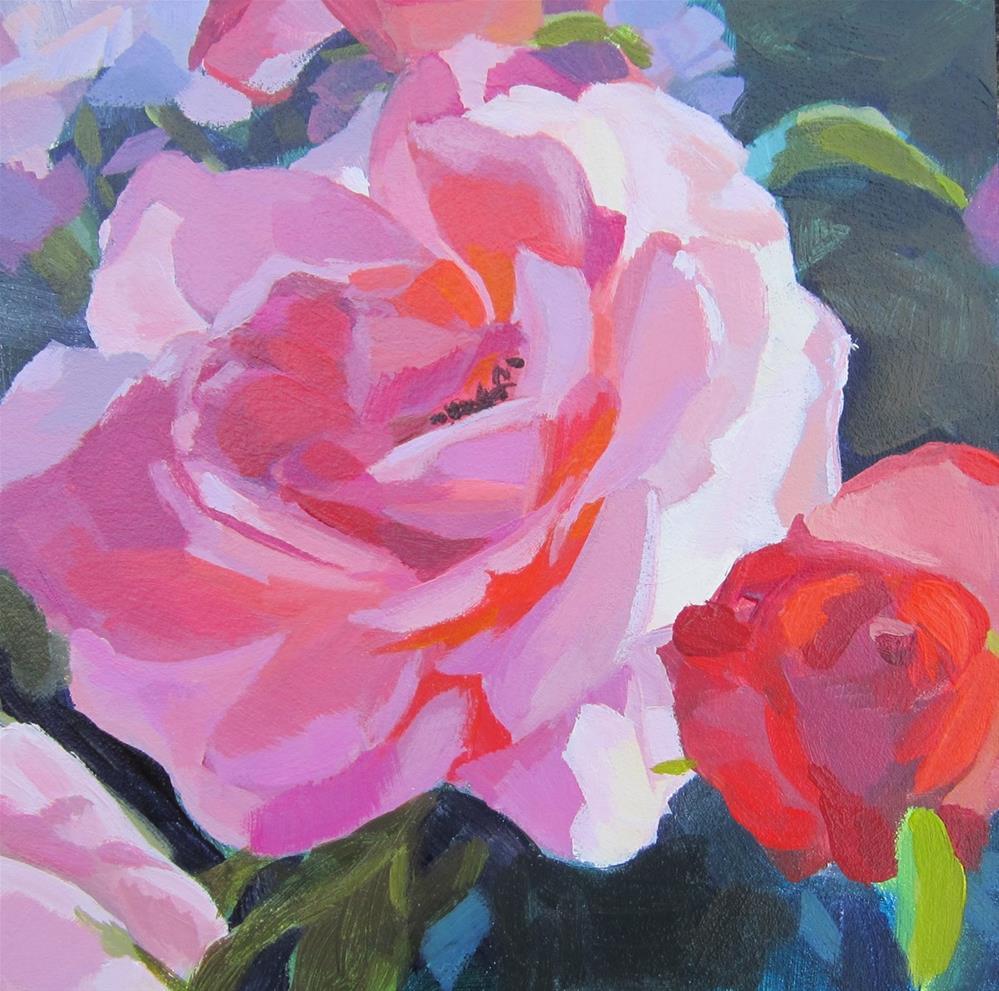 """""""Roses"""" original fine art by Kaethe Bealer"""