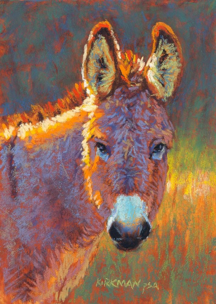"""""""Donna Kiara"""" original fine art by Rita Kirkman"""