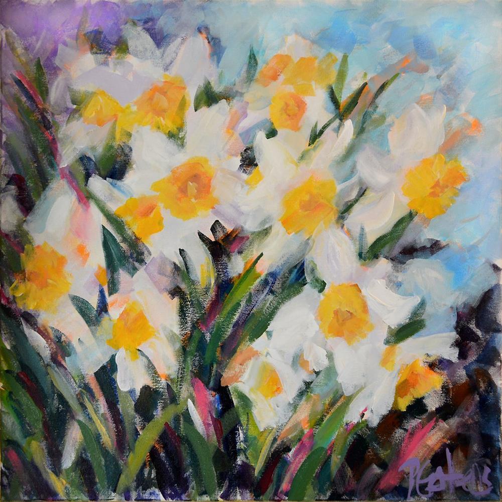 """Herald of Spring"" original fine art by Pamela Gatens"