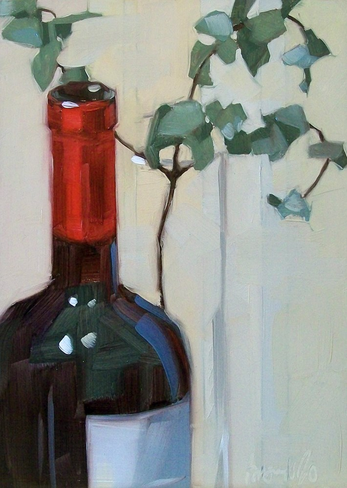 """Red light"" original fine art by Brandi Bowman"