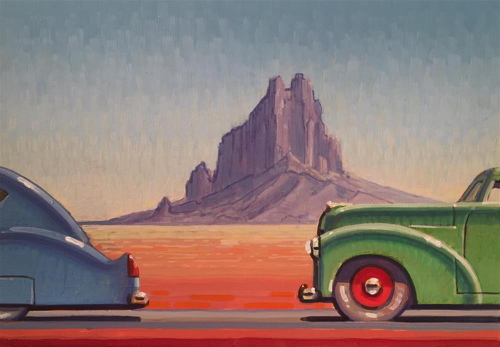 """Highway"" original fine art by Robert LaDuke"