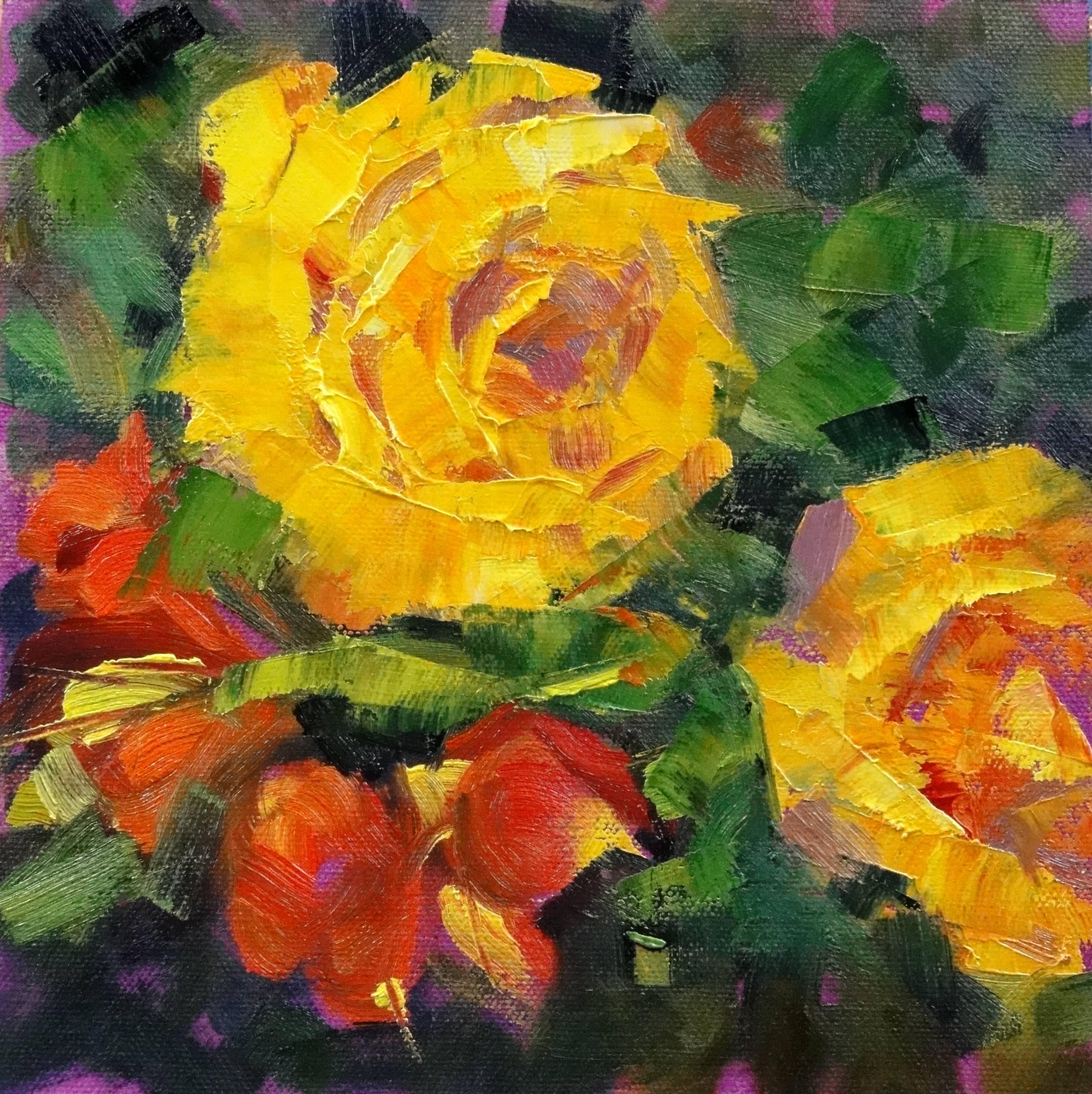 """Untitled"" original fine art by Ann Feldman"