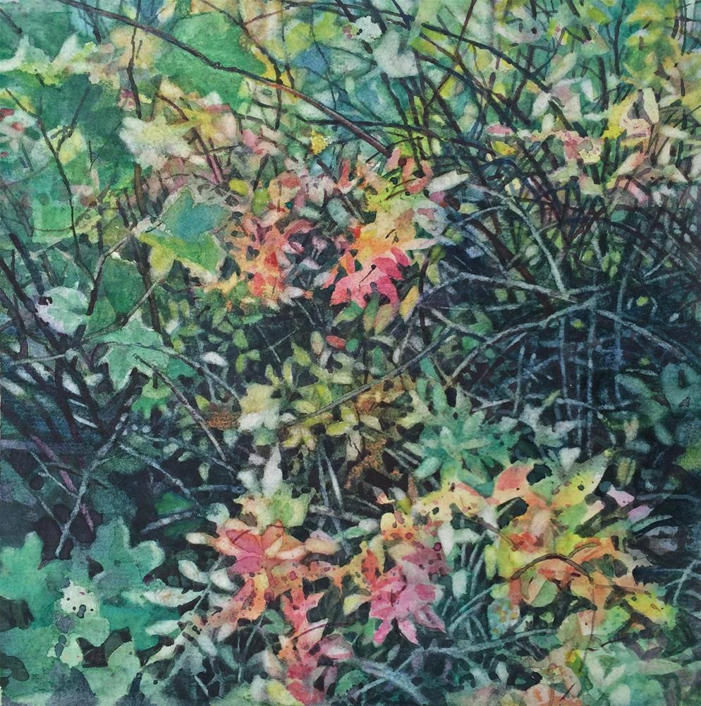 """Fall Tangle"" original fine art by Nicoletta Baumeister"