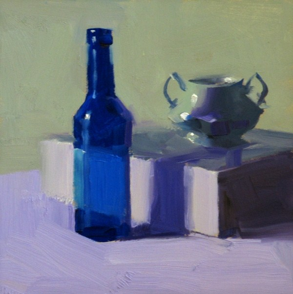 """Clear and Cool"" original fine art by Qiang Huang"