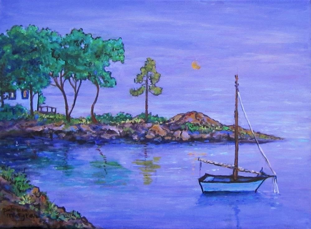 """""""Canadian Holiday"""" original fine art by Patricia Musgrave"""