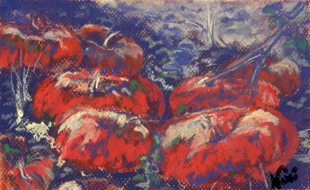"""""""Bitter Harvest II"""" original fine art by Niki Hilsabeck"""