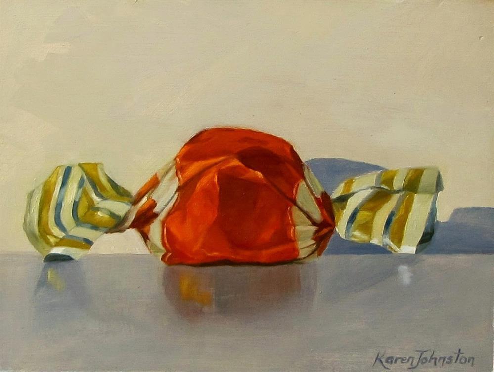 """Life's Little Pleasures"" original fine art by Karen Johnston"