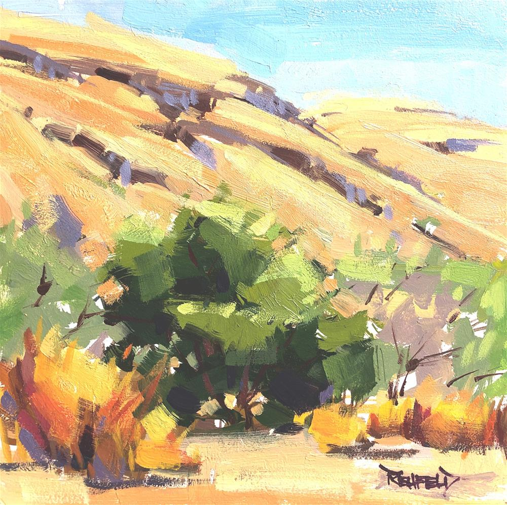 """Big Sagebrush Eastern Oregon"" original fine art by Cathleen Rehfeld"