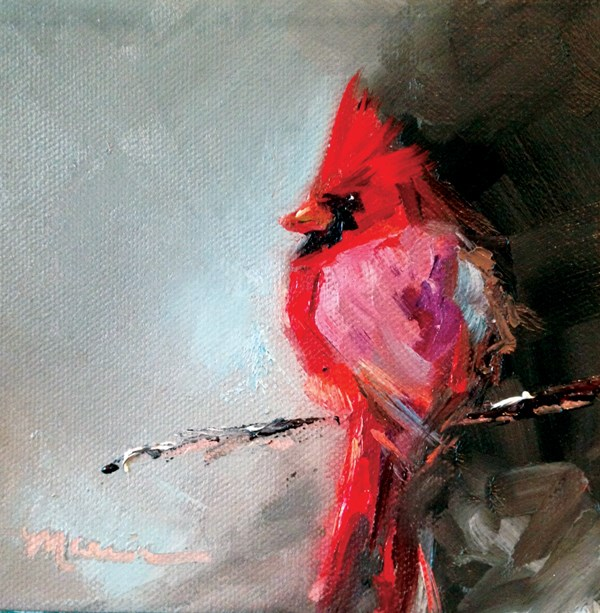 """""""Red"""" original fine art by Marcia Hodges"""