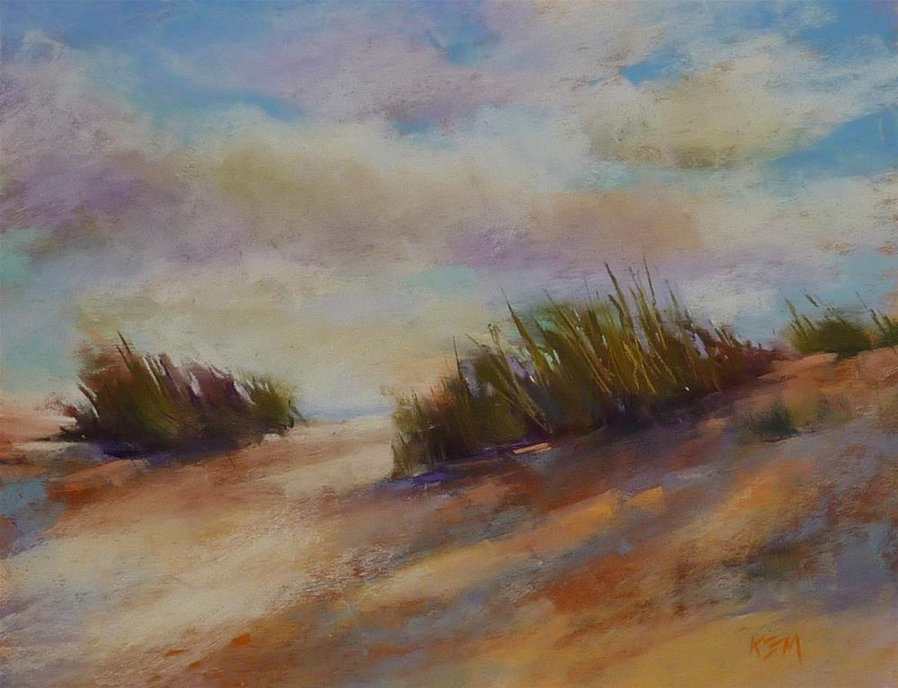 """""""My Favorite Tip to Prevent Overworking a Pastel Painting"""" original fine art by Karen Margulis"""