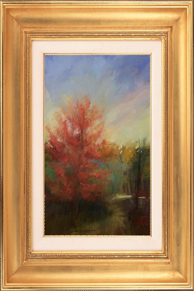 """""""Virginia October"""" original fine art by Leora LaGraffe"""