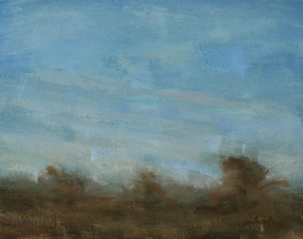 """Winter Daylight 01"" original fine art by Scott Serafica"
