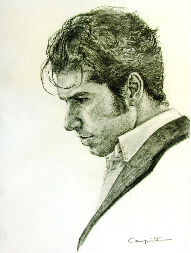 """""""Un torero"""" original fine art by Eduardo Carpintero"""