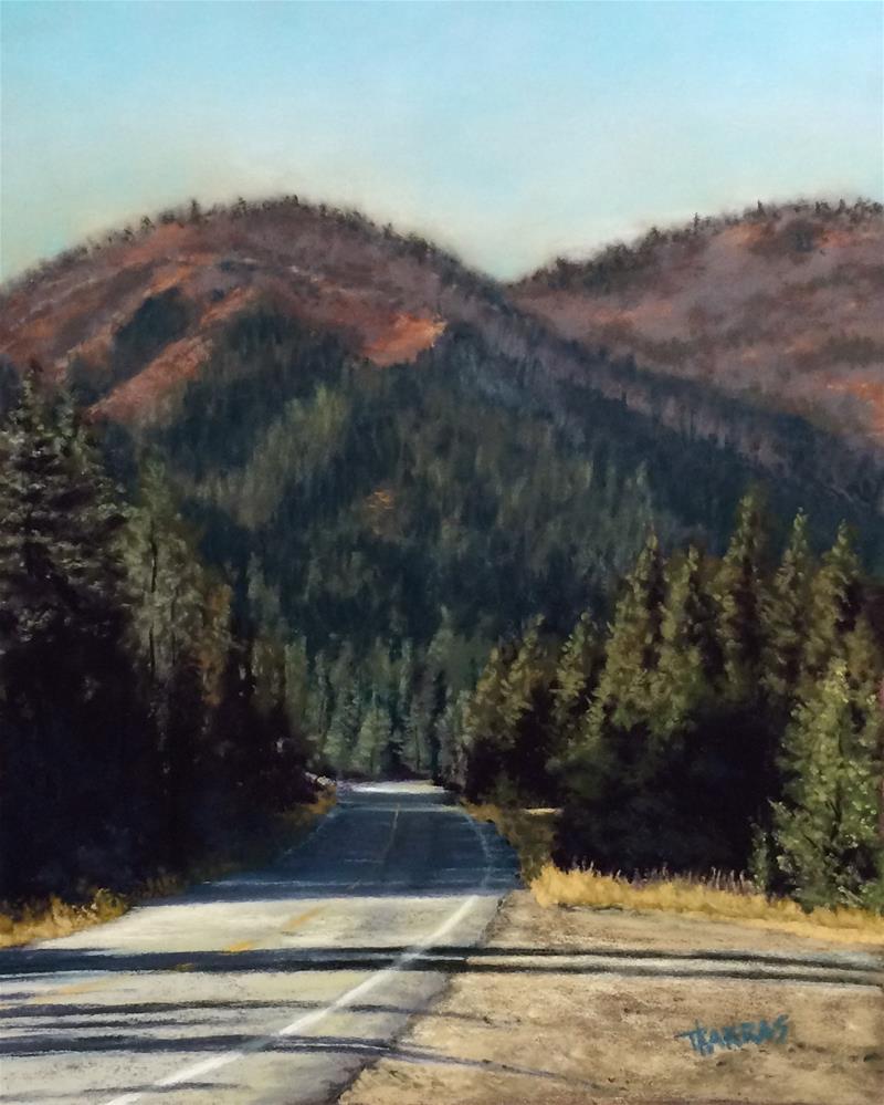 """Roadside Wonders"" original fine art by Christina Karras"