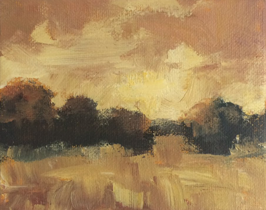 """Golden Hour"" original fine art by Shannon Bauer"