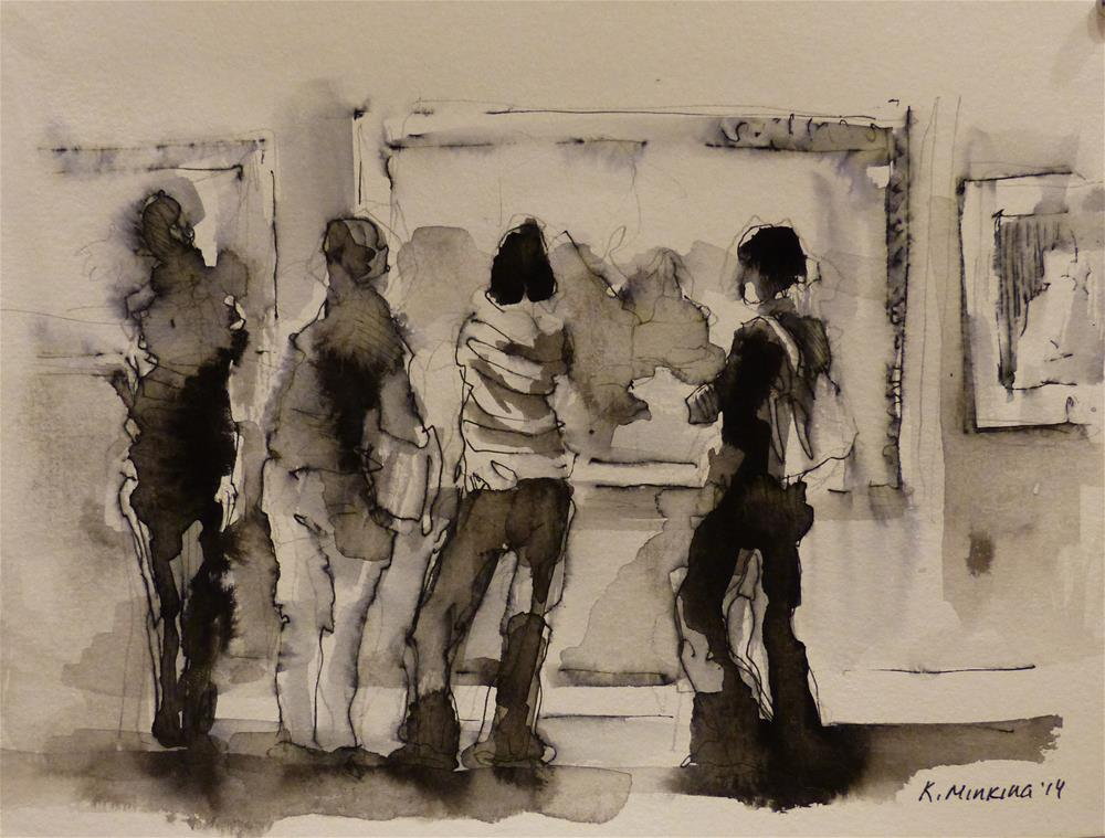 """urban26"" original fine art by Katya Minkina"