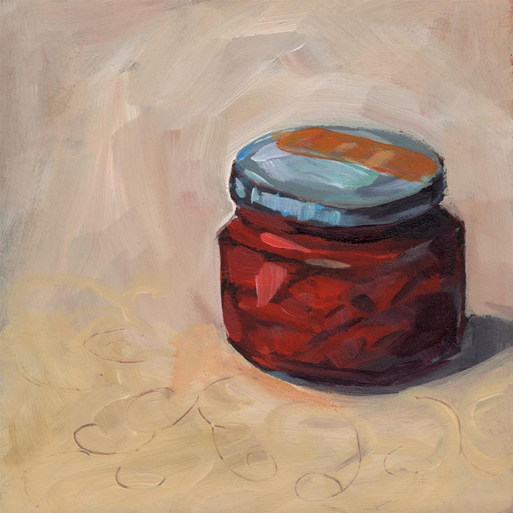 """0266: Pimiento Jar"" original fine art by Brian Miller"
