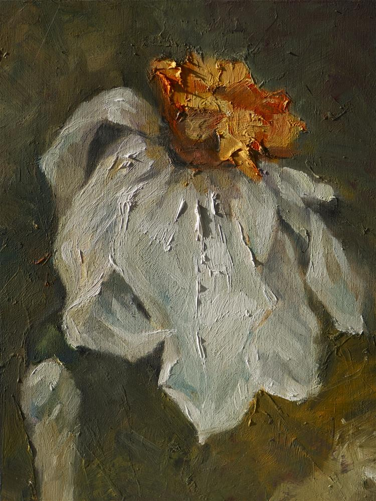 """Daffodil"" original fine art by Anny Kong"