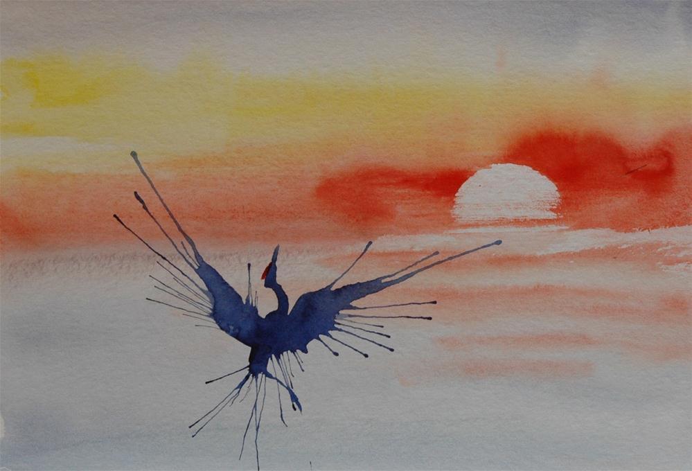 """""""Sonnentanz (Sundance)"""" original fine art by Ulrike Schmidt"""