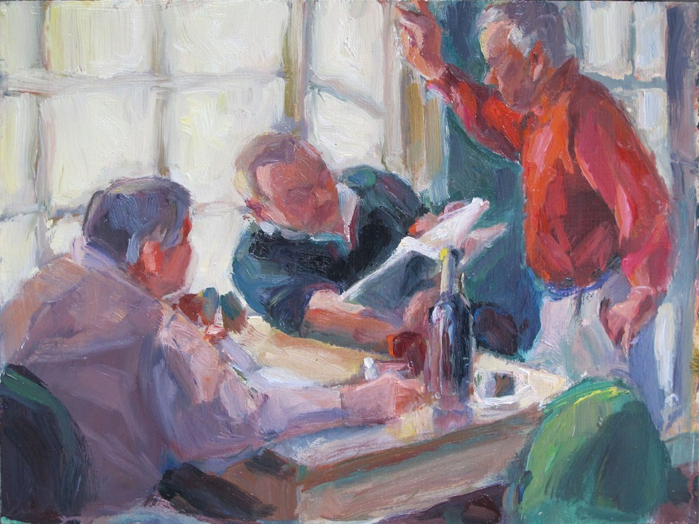 """""""State of the nation"""" original fine art by Myriam Kin-Yee"""