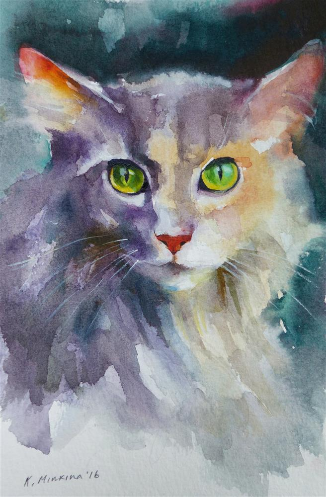"""adopt168"" original fine art by Katya Minkina"